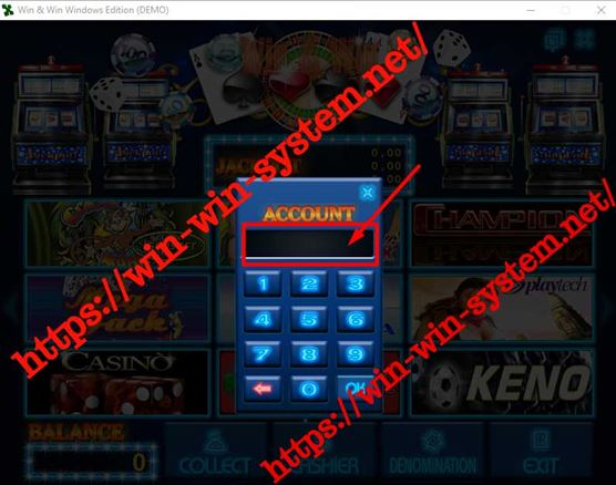 Активация demo Win&Win Casino на вашем компьютере